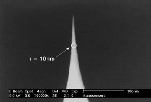 AFM探针NanoSensors 超尖探针SSS-NCHR10根/盒