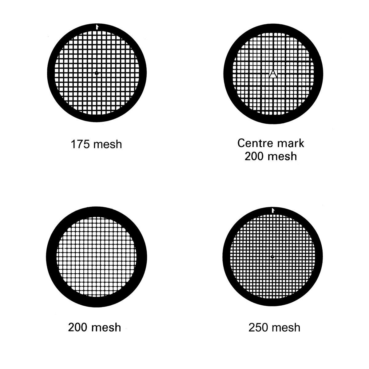 Au材质方孔TEM金网50目至600目50个/盒