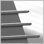 AFM探针MikroMasch三种轻敲模式不导电探针HQ:NSC35/Cr-Au BS15根/盒