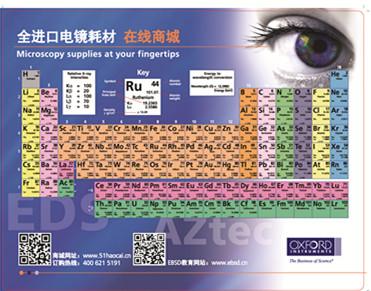 牛津仪器带元素周期表定制版鼠标垫